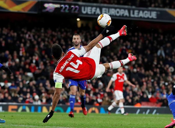 Đương kim á quân Arsenal bị loại sốc vòng knock-out Europa League - Ảnh 5.