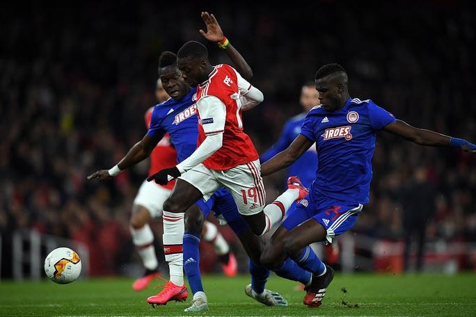Đương kim á quân Arsenal bị loại sốc vòng knock-out Europa League - Ảnh 2.