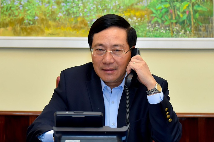 Phó Thủ tướng Phạm Bình Minh điện đàm với Ngoại trưởng Hàn Quốc - Ảnh 1.