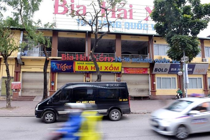 Nhiều quán bia lớn ở Hà Nội đóng cửa vì cú đúp tác động từ dịch Covid-19 và Nghị định 100 - Ảnh 2.