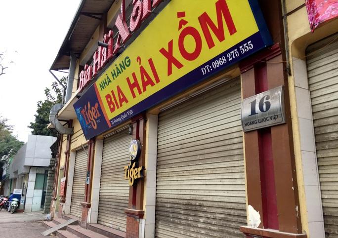 Nhiều quán bia lớn ở Hà Nội đóng cửa vì cú đúp tác động từ dịch Covid-19 và Nghị định 100 - Ảnh 3.