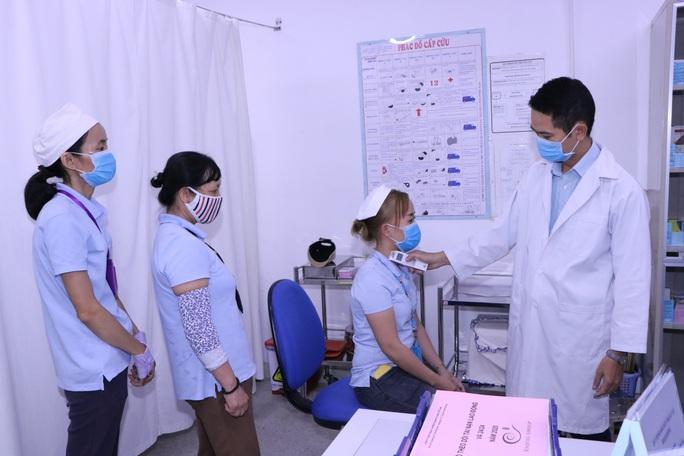 Bình Dương: Chủ động bảo vệ sức khỏe cho công nhân - Ảnh 1.