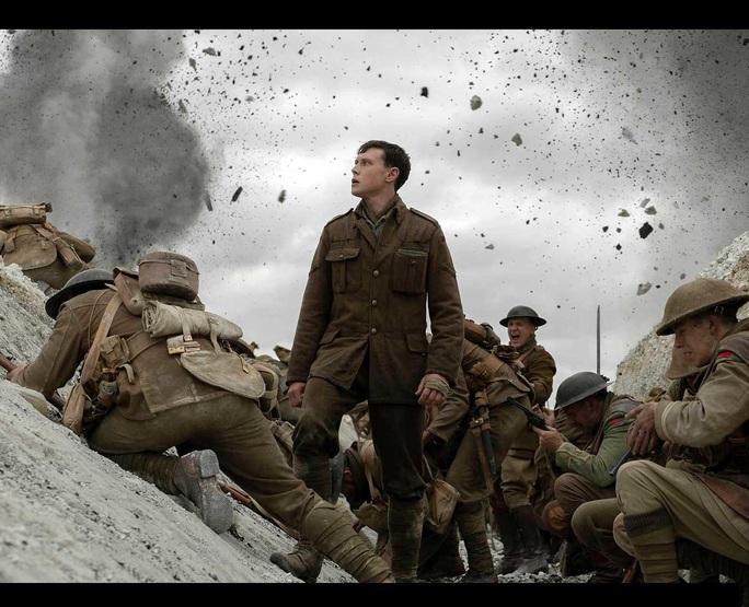 """Phim chiến tranh """"1917"""" thắng lớn trước thềm Oscar 2020 - Ảnh 1."""