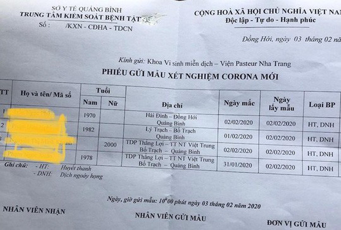 Hơn 230 lao động Quảng Bình trở về từ Trung Quốc sẽ bị cách ly vì Virus Corona - Ảnh 2.