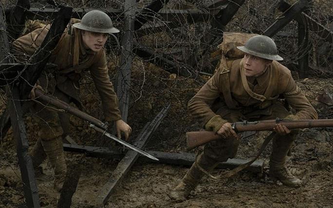 """Phim chiến tranh """"1917"""" thắng lớn trước thềm Oscar 2020 - Ảnh 2."""