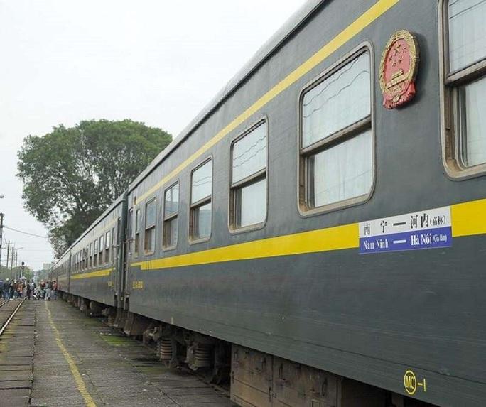 Dừng tàu khách liên vận quốc tế Việt Nam - Trung Quốc vì virus corona - Ảnh 1.