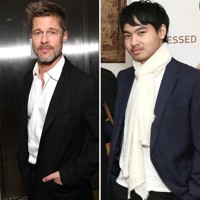 Brad Pitt nỗ lực làm lành với con trai nuôi? - Ảnh 1.