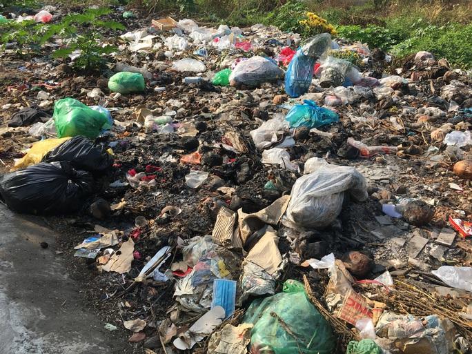 Kinh khủng bãi rác tự phát ở quận Bình Tân - TP HCM - Ảnh 3.
