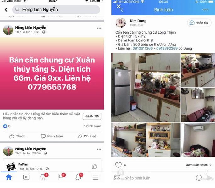 Bình Định buộc gỡ thông tin rao bán nhà ở xã hội trên Facebook - Ảnh 1.