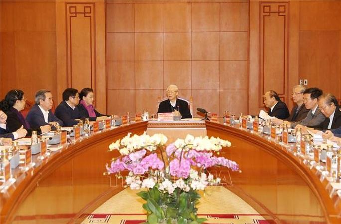 Tổng Bí thư, Chủ tịch nước Nguyễn Phú Trọng chủ trì họp Tiểu ban Văn kiện Đại hội XIII - Ảnh 4.
