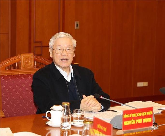 Tổng Bí thư, Chủ tịch nước Nguyễn Phú Trọng chủ trì họp Tiểu ban Văn kiện Đại hội XIII - Ảnh 3.