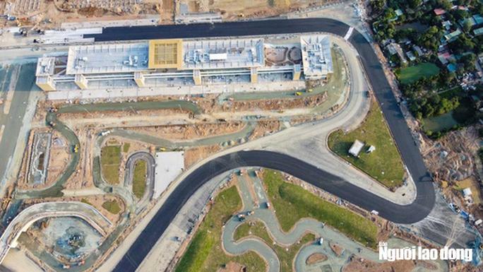 Toàn cảnh đường đua F1 Việt Nam đang trong quá trình hoàn thiện - Ảnh 3.