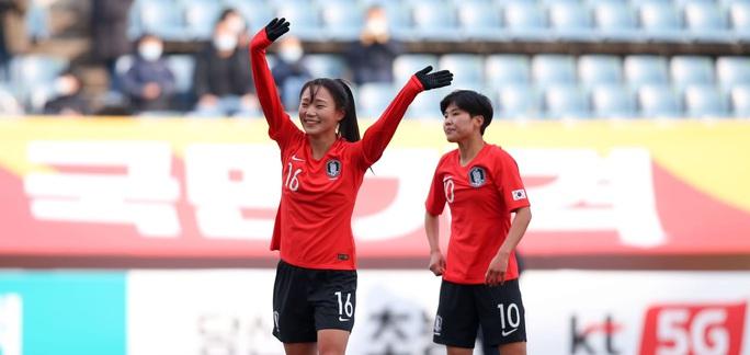 Thua Hàn Quốc 0-3, tuyển nữ Việt Nam đứng nhì bảng A - Ảnh 2.