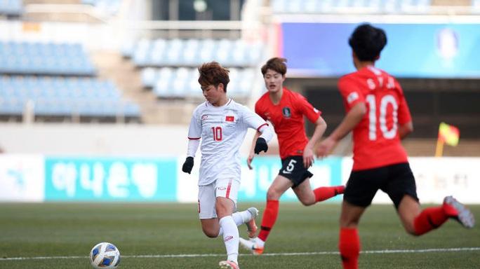 Thua Hàn Quốc 0-3, tuyển nữ Việt Nam đứng nhì bảng A - Ảnh 1.