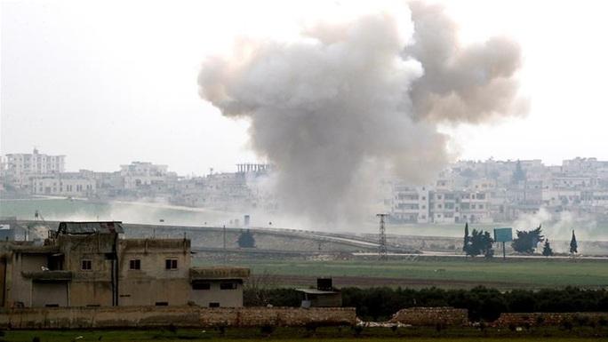 """Thổ Nhĩ Kỳ: Máy bay chính phủ Syria """"bị hạ"""" ở tỉnh Idlib - Ảnh 1."""