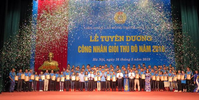 Hà Nội: Xét chọn, tuyên dương công nhân giỏi thủ đô - Ảnh 1.