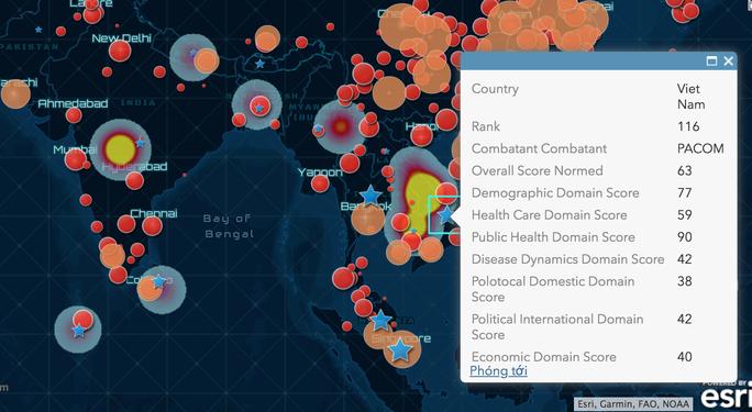 Lần đầu tiên Việt Nam công bố bức tranh cảnh báo nguy cơ dịch bệnh Covid-19 toàn cầu - Ảnh 3.