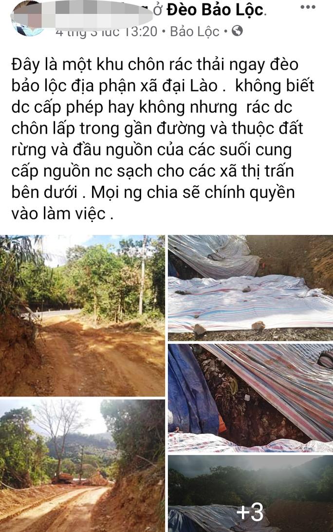Cận cảnh bãi rác kinh hoàng trên đèo Bảo Lộc - Ảnh 7.