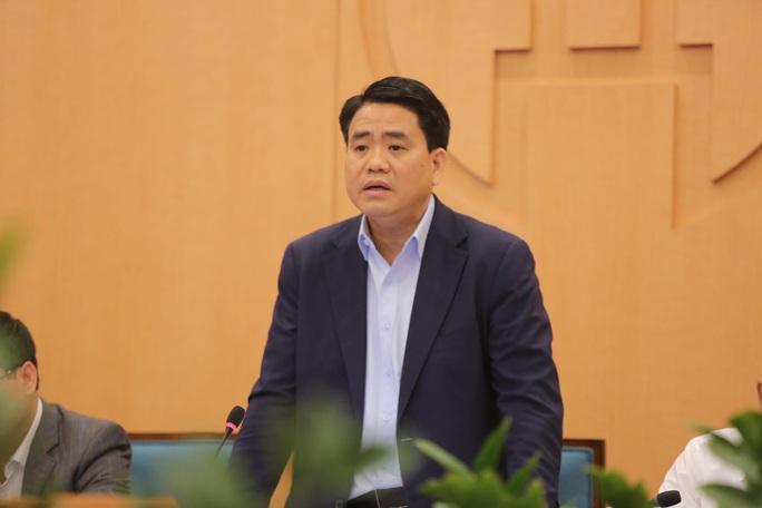 Chủ tịch Hà Nội đề xuất mua trang thiết bị y tế đảm bảo khi có 1.000 ca mắc Covid-19 - Ảnh 1.
