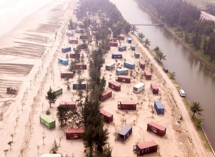 CLIP: Cận cảnh 130 nhà nghỉ bằng container xây dựng trái phép trong rừng phòng hộ - Ảnh 11.