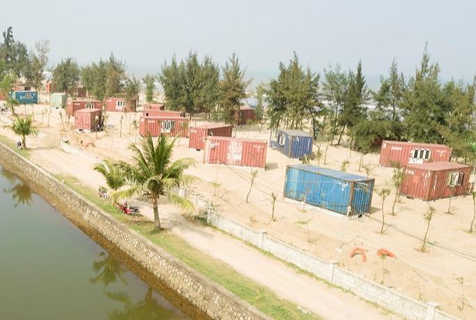CLIP: Cận cảnh 130 nhà nghỉ bằng container xây dựng trái phép trong rừng phòng hộ - Ảnh 10.