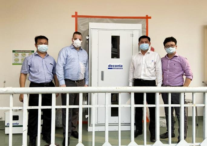 Hà Anh Tuấn tặng 3 phòng cách ly phòng chống dịch Covid-19 - Ảnh 2.