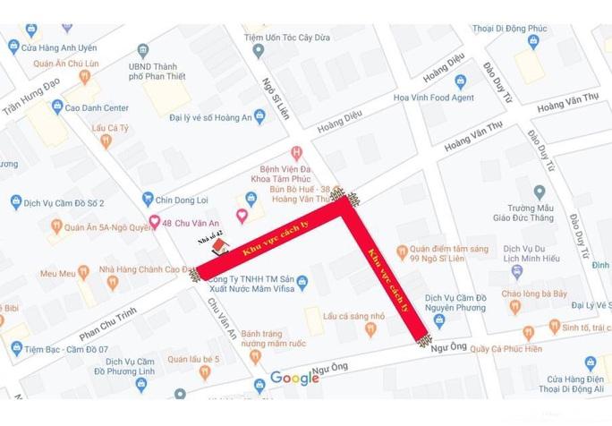 Covid-19: Bình Thuận phong tỏa 2 tuyến phố trung tâm Phan Thiết - Ảnh 1.