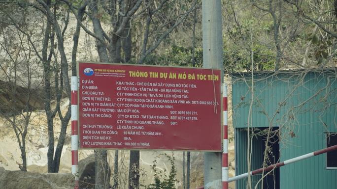 Bà Rịa-Vũng Tàu: Mỏ khai thác khoáng sản hoạt động rầm rộ, bất chấp lệnh dừng - Ảnh 4.
