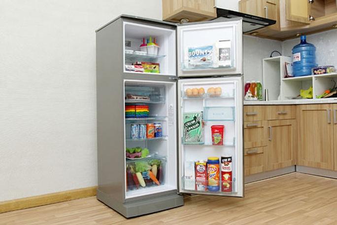 Tủ lạnh VTB công nghệ nano phân tử bạc loại trừ vi khuẩn - Ảnh 1.