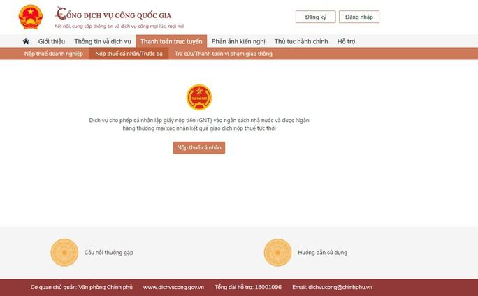 Vietcombank cung cấp giải pháp thanh toán trực tuyến trên Cổng Dịch vụ công quốc gia - Ảnh 2.