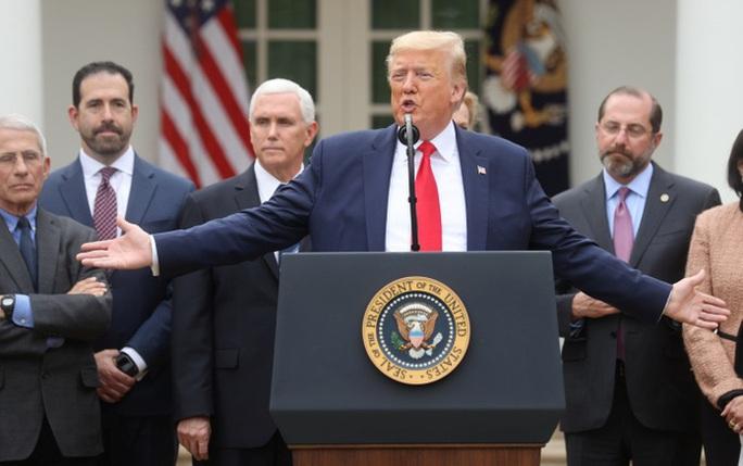 Covid-19: Chậm trễ xét nghiệm ở Mỹ không phải lỗi ông Trump - Ảnh 1.