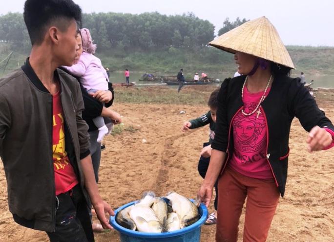 Cá chết hàng loạt bất thường trên sông Chu - Ảnh 4.