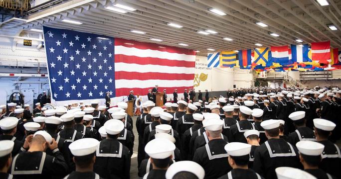 Lính hải quân Mỹ nhiễm Covid-19 trên tàu - Ảnh 2.