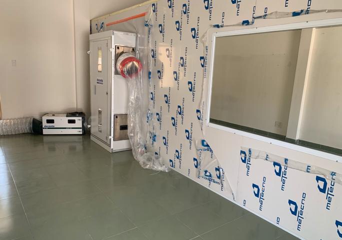 TP HCM mở bệnh viện 300 giường điều trị Covid-19 ở ven biển - Ảnh 1.