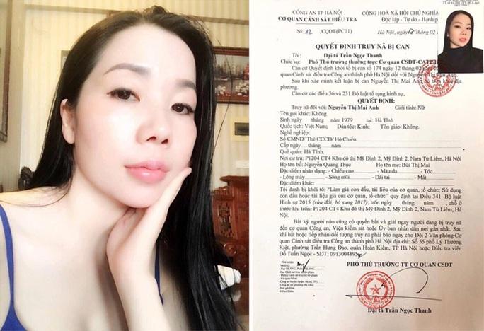 Công an kêu gọi Nguyễn Thị Mai Anh ra đầu thú để hưởng khoan hồng - Ảnh 1.