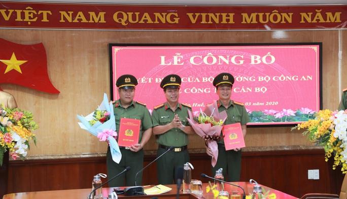 Công an Thừa Thiên - Huế điều động, bổ nhiệm hàng loạt cán bộ - Ảnh 1.