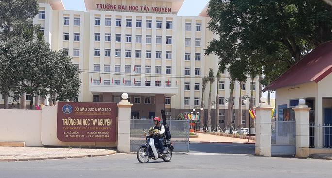 Trường ĐH Tây Nguyên cho học sinh, sinh viên nghỉ học phòng tránh Covid-19 - Ảnh 1.