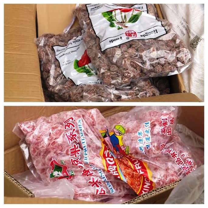 Quảng Bình: Bắt giữ xe tải chở hơn 10 tấn trái cây sấy khô, bốc mùi - Ảnh 2.
