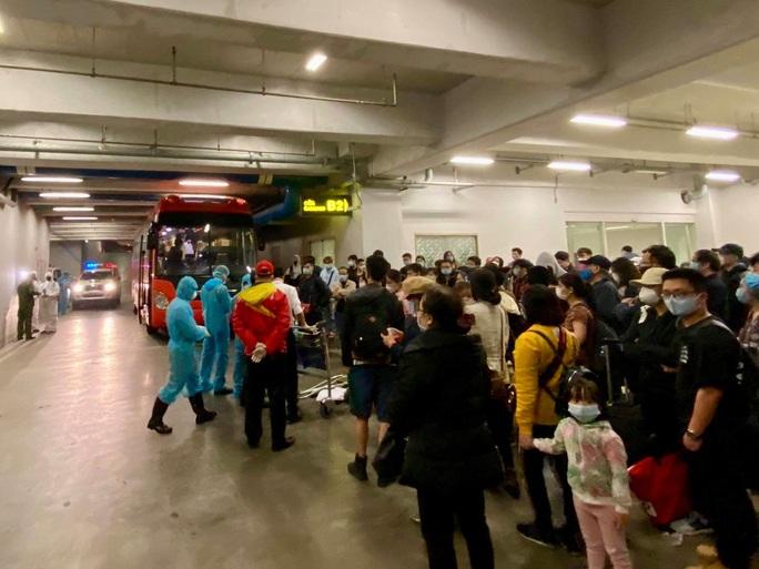 100 sinh viên Đại học Y năm cuối tăng cường chống dịch Covid-19 tại sân bay Nội Bài - Ảnh 1.