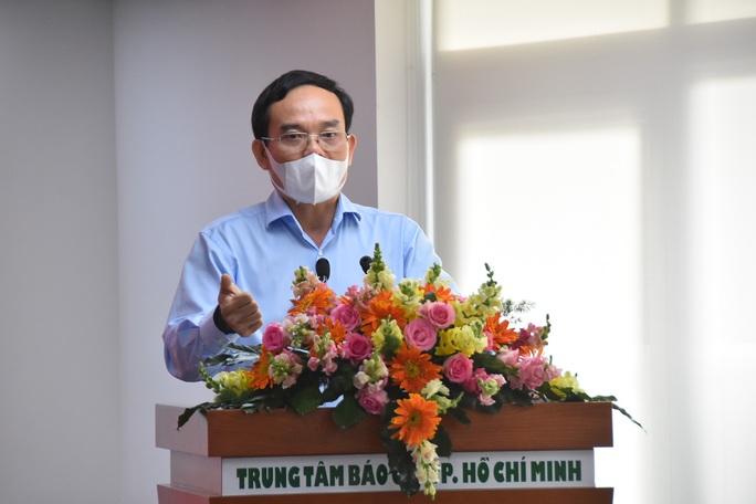 Lãnh đạo TP HCM sẽ quan tâm hơn, hỗ trợ hơn để báo chí hoạt động - Ảnh 1.