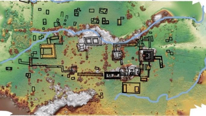 Đào trại gia súc, phát hiện… thành phố  Maya khổng lồ 1.300 tuổi - Ảnh 1.