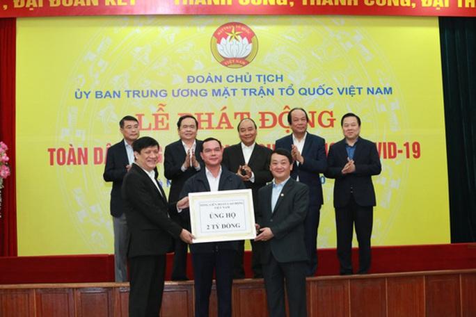 CLIP: Thủ tướng quyên góp ủng hộ phòng chống dịch Covid-19 - Ảnh 6.