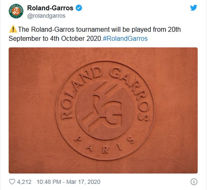 Federer có thể dự Roland Garros diễn ra vào tháng 9-2020 - Ảnh 2.