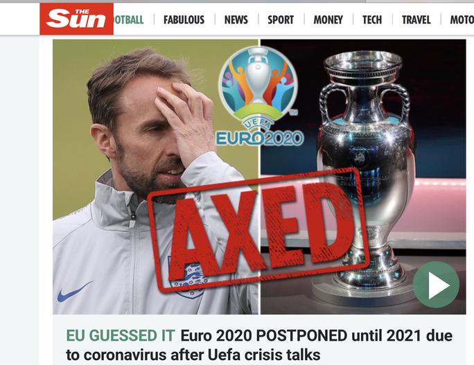 Truyền thông thế giới sốt vì EURO lẫn Copa America 2020 cùng bị hoãn - Ảnh 5.