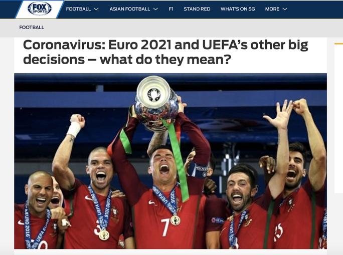 Truyền thông thế giới sốt vì EURO lẫn Copa America 2020 cùng bị hoãn - Ảnh 10.