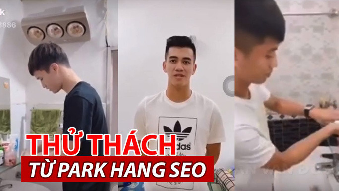 Tuyển thủ Việt rủ nhau quay clip hưởng ứng lời kêu gọi rửa tay của HLV Park Hang-seo - Ảnh 2.