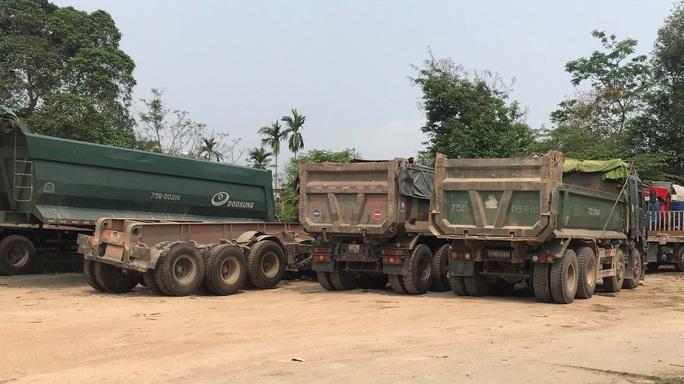 Sau điều tra của Báo Người Lao Động, hàng loạt xe tải ở Thừa Thiên - Huế bị xử phạt - Ảnh 7.
