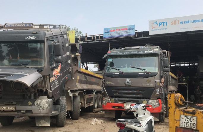 Sau điều tra của Báo Người Lao Động, hàng loạt xe tải ở Thừa Thiên - Huế bị xử phạt - Ảnh 5.