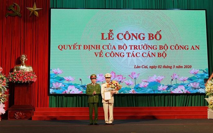 Bổ nhiệm Đại tá Lưu Hồng Quảng làm Giám đốc Công an tỉnh Lào Cai - Ảnh 1.