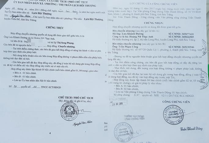 Người tố cáo Cục phó Thi hành án Dân sự Sóc Trăng lên tiếng - Ảnh 4.